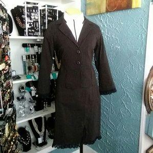 F. L. Malik Skirt Suit
